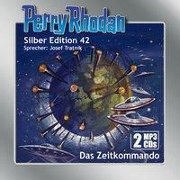 Perry Rhodan Silber Edition - Das Zeitkommando, 2 MP3-CDs, Clark Darlton, Hans Kneifel, William Voltz