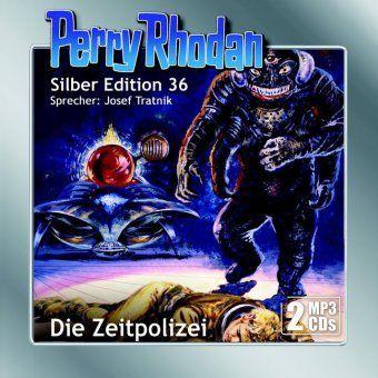 Perry Rhodan Silber Edition - Die Zeitpolizei, MP3-CD, Clark Darlton, Kurt Mahr, K. H. Scheer