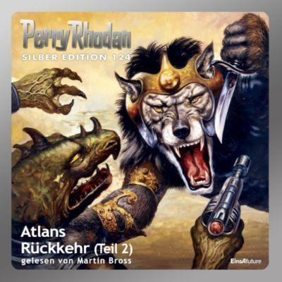 Perry Rhodan Silber Edition: Perry Rhodan Silber Edition 124: Atlans Rückkehr (Teil 2), William Voltz, Kurt Mahr, Ernst Vlcek, Hans Kneifel, Peter Griese