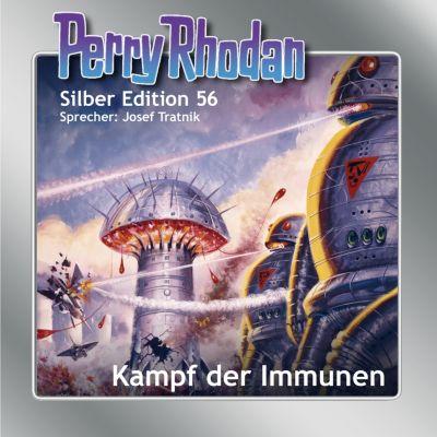 Perry Rhodan Silber Edition: Perry Rhodan Silber Edition 56: Kampf der Immunen, Clark Darlton, William Voltz, Ernst Vlcek, Hans Kneifel, K. H. Scheer