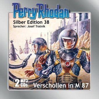 Perry Rhodan Silber Edition - Verschollen in M 87, 2 MP3-CDs, Clark Darlton, Kurt Mahr, William Voltz