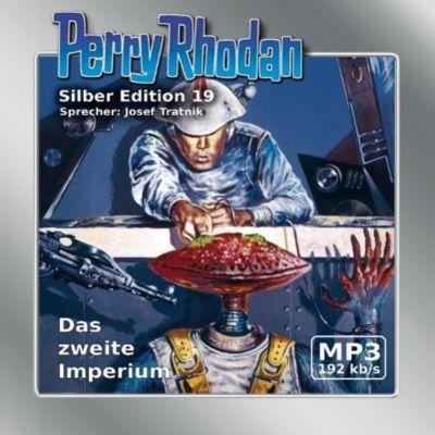 Perry Rhodan Silberedition Band 19: Das zweite Imperium (MP3-CD), Clark Darlton, Kurt Mahr, Kurt Brand