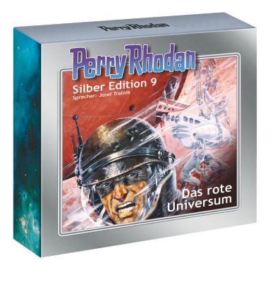 Perry Rhodan Silberedition Band 9: Das rote Universum (13 Audio-CDs), Clark Darlton, K.H. Scheer, Kurt Mahr