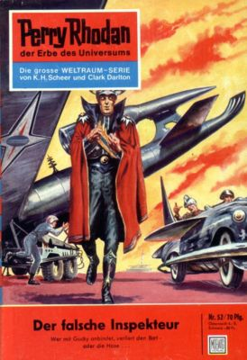 Perry Rhodan-Zyklus Atlan und Arkon Band 52: Der falsche Inspekteur (Heftroman), Clark Darlton