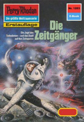 Perry Rhodan-Zyklus Chronofossilien - Vironauten Band 1203: Die Zeitgänger (Heftroman), H.g. Francis