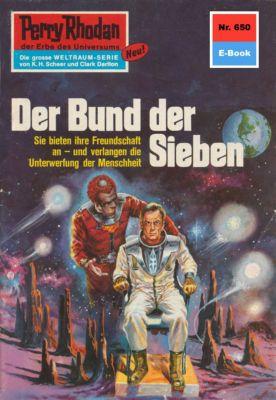 Perry Rhodan-Zyklus Das Konzil Band 650: Der Bund der Sieben (Heftroman), William Voltz