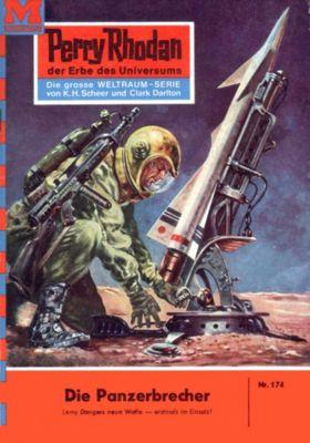 Perry Rhodan-Zyklus Das Zweite Imperium Band 174: Die Panzerbrecher (Heftroman), William Voltz
