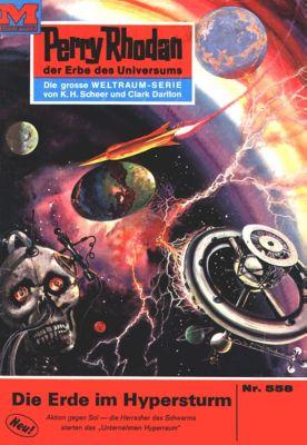 Perry Rhodan-Zyklus Der Schwarm Band 558: Die Erde im Hypersturm (Heftroman), Ernst Vlcek