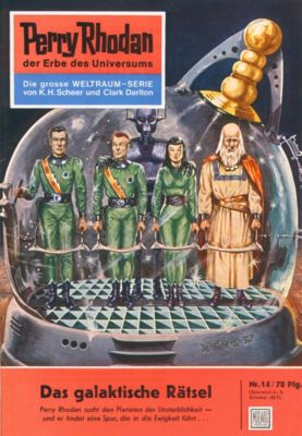 Perry Rhodan-Zyklus Die Dritte Macht Band 14: Das galaktische Rätsel (Heftroman), Clark Darlton