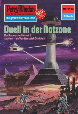 Perry Rhodan-Zyklus Die endlose Armada Band 1133: Duell in der Notzone (Heftroman), H.G. Ewers