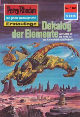Perry Rhodan-Zyklus Die endlose Armada Band 1186: Dekalog der Elemente (Heftroman), Ernst Vlcek