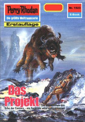 Perry Rhodan-Zyklus Die Linguiden Band 1523: Das Projekt (Heftroman), Kurt Mahr