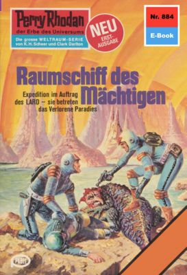 Perry Rhodan-Zyklus Pan-Thau-Ra Band 884: Raumschiff des Mächtigen (Heftroman), William Voltz