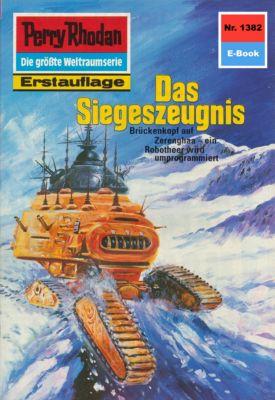 Perry Rhodan-Zyklus Tarkan Band 1382: Das Siegeszeugnis (Heftroman), K.H. Scheer