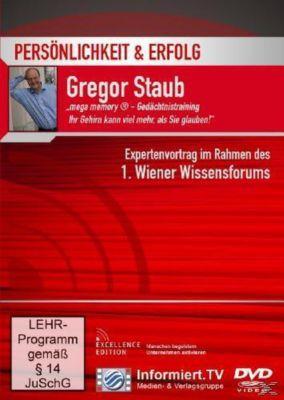 Persönlichkeit & Erfolg: mega memory- Gedächtnistraining - Ihr Gehirn kann, Gregor Staub
