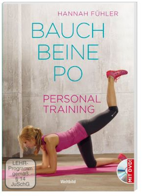personal training bauch beine po dvd buch. Black Bedroom Furniture Sets. Home Design Ideas