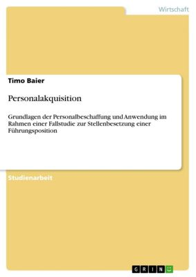 Personalakquisition, Timo Baier