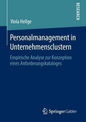 Personalmanagement in Unternehmensclustern - Viola Hellge |