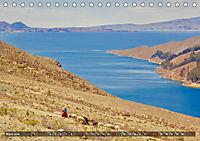 Peru Bolivien Chile (Tischkalender 2019 DIN A5 quer) - Produktdetailbild 3