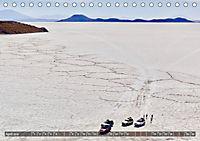 Peru Bolivien Chile (Tischkalender 2019 DIN A5 quer) - Produktdetailbild 4