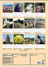 Peru - Ecuador (Wandkalender 2018 DIN A2 hoch) - Produktdetailbild 13