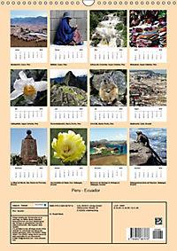 Peru - Ecuador (Wandkalender 2018 DIN A3 hoch) - Produktdetailbild 13