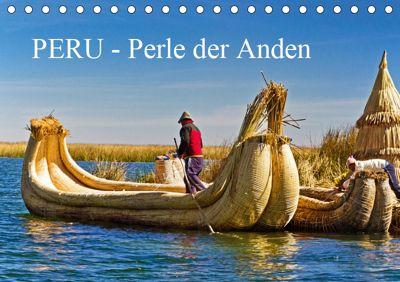 Peru - Perle der Anden (Tischkalender 2019 DIN A5 quer), Harry Müller