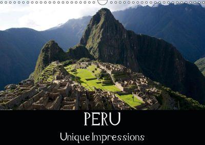 Peru Unique Impressions (Wall Calendar 2019 DIN A3 Landscape), Silvia Schröder
