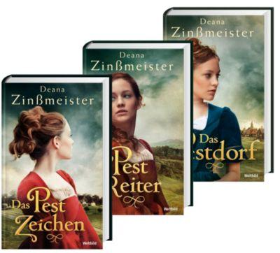 Pest-Trilogie Das Pestzeichen/Der Pestreiter/Das Pestdorf, Deana Zinßmeister
