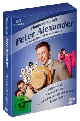 Peter Alexander Box - 4 Komödien voller Evergreens