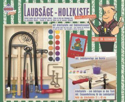 PETER BAUSCH Laubsäge-Holzkiste