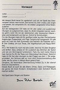 Peter Bursch's Kinder-Gitarrenbuch, m. Audio-CD - Produktdetailbild 2