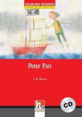 Peter Pan, w. Audio-CD, James Matthew Barrie