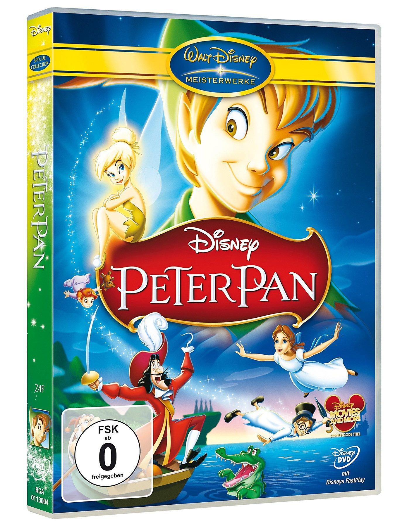 Peter Pan Walt Disney Dvd Jetzt Bei Weltbildde Online Bestellen