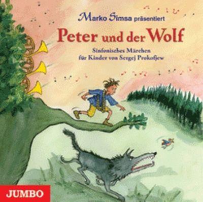 peter und der wolf 1 audio cd h rbuch bei bestellen. Black Bedroom Furniture Sets. Home Design Ideas