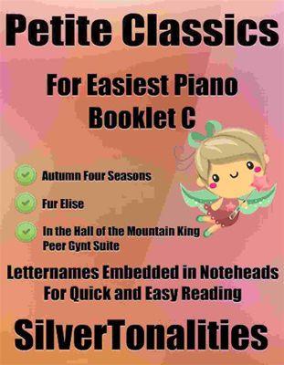Petite Classics for Easiest Piano Booklet C, Antonio Vivaldi, Edvard Grieg, LUDWIG VAN BEETHOVEN, SilverTonalities