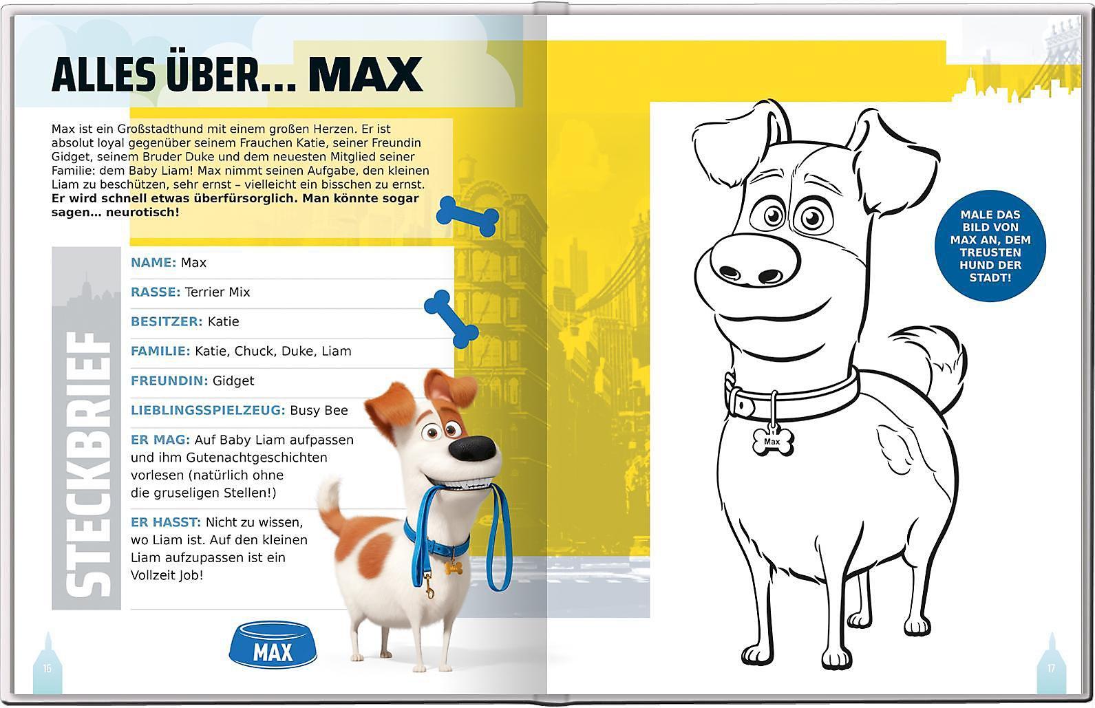 Pets 2 Mein Fanbuch Buch Versandkostenfrei Bei Weltbildde