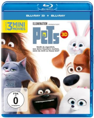 Pets - 3D-Version, Diverse Interpreten