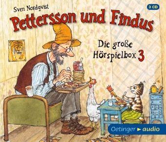 Pettersson und Findus - Die große Hörspielbox, 3 Audio-CDs, Sven Nordqvist