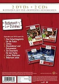 Pettersson und Findus - Geschenkbox 1 (2 DVDs + 2 Audio-CDs) - Produktdetailbild 1