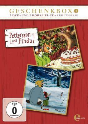 Pettersson und Findus - Geschenkbox 1 (2 DVDs + 2 Audio-CDs), Sven Nordqvist