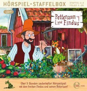 Pettersson und Findus - Staffelbox, 1 MP3-CD, Pettersson Und Findus
