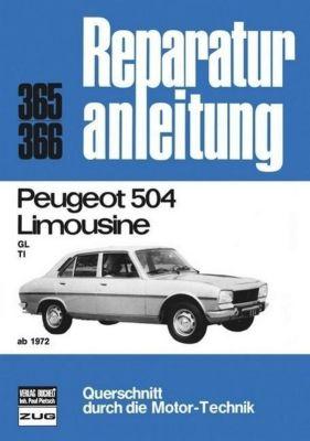 Peugeot 504 Limousine ab 1972