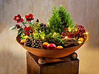 """Pflanzsäule """"Ginkgo"""" mit Beleuchtung - Produktdetailbild 2"""