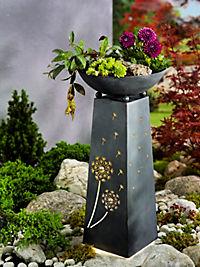 "Pflanzsäule ""Pusteblume"" mit Beleuchtung - Produktdetailbild 1"