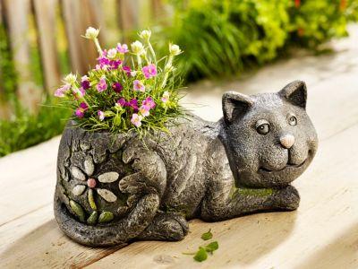 Pflanztopf Katze