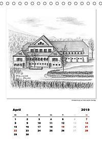 Pfullingen in Kohlezeichnungen (Tischkalender 2019 DIN A5 hoch) - Produktdetailbild 9