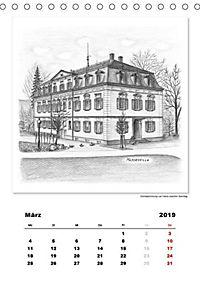 Pfullingen in Kohlezeichnungen (Tischkalender 2019 DIN A5 hoch) - Produktdetailbild 8