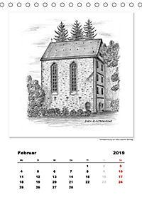 Pfullingen in Kohlezeichnungen (Tischkalender 2019 DIN A5 hoch) - Produktdetailbild 2