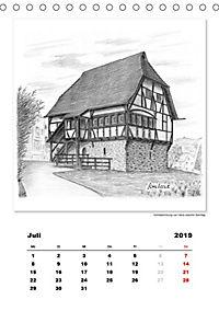 Pfullingen in Kohlezeichnungen (Tischkalender 2019 DIN A5 hoch) - Produktdetailbild 7